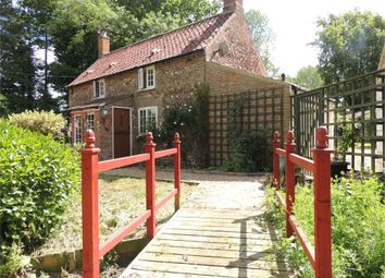 Thumbnail 2 bed detached house for sale in Field Barn Lane, South Runcton, King's Lynn