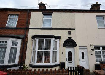 Thumbnail 2 bed terraced house for sale in Sackville Street, Basford, Stoke-On-Trent