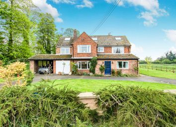 Thumbnail 5 bed equestrian property for sale in Colsterworth Road, Stainby, Grantham