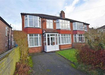 Thumbnail 4 bed semi-detached house for sale in Redcourt Avenue, Didsbury, Manchester