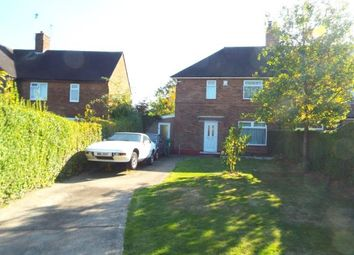 Thumbnail 3 bed semi-detached house for sale in Rushford Drive, Wollaton, Nottinghamshire