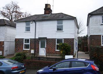 Thumbnail 2 bed semi-detached house for sale in Heartenoak Road, Hawkhurst, Cranbrook
