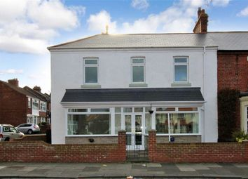 Thumbnail 4 bed terraced house for sale in Relton Terrace, Monkseaton, Whitley Bay
