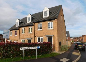 Thumbnail 3 bed town house to rent in Sapphire Street, Mansfield