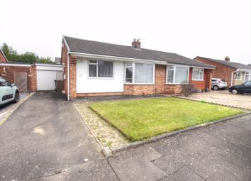 Thumbnail 2 bed semi-detached bungalow for sale in Dawlish Place, Chapel Park, Newcastle Upon Tyne
