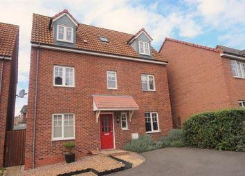 Thumbnail 4 bed detached house for sale in Warmington Avenue, Grantham