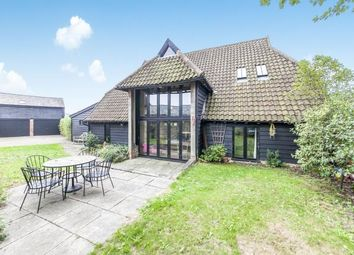 Thumbnail 3 bed barn conversion for sale in Hitcham, Ipswich, Suffolk
