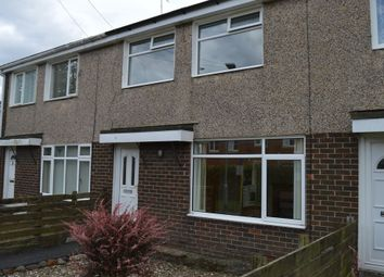 Thumbnail 3 bed terraced house to rent in Mile Road, Widdrington Morpeth