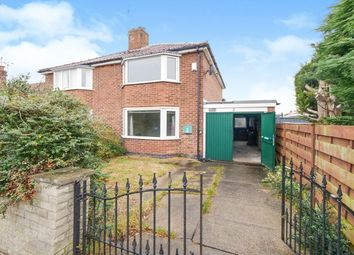 Thumbnail Semi-detached house for sale in Minster Avenue, York
