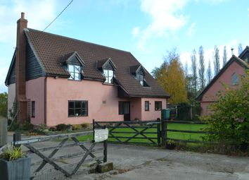 Thumbnail 4 bed detached house for sale in Stradbroke Road, Brundish, Woodbridge