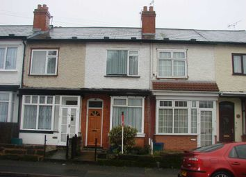 Thumbnail 2 bed terraced house to rent in Boscombe Road, Sparkhill, Birmingham
