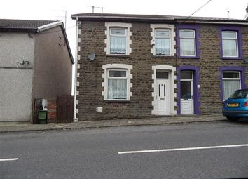 Thumbnail 3 bed semi-detached house to rent in Collenna Road, Tonyrefail, Porth