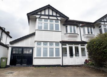 Thumbnail 3 bed semi-detached house for sale in South Drive, Romford