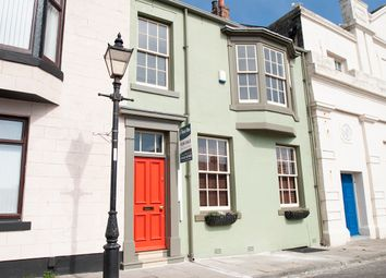 Thumbnail 4 bedroom town house for sale in Regent Street, The Headland, Hartlepool