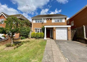 Thumbnail 4 bed detached house for sale in Wentworth Avenue, Elstree