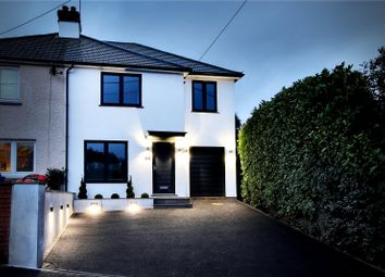 Thumbnail 4 bed semi-detached house for sale in Taylors Lane, Trottiscliffe, West Malling, Kent