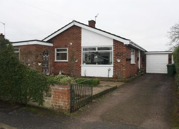 Thumbnail 3 bedroom detached bungalow for sale in Bligh Close, Framingham Earl, Norwich