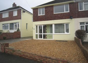 3 bed semi-detached house to rent in St Margarets Road, Plympton PL7