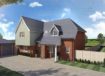Thumbnail 4 bed detached house for sale in Ware Road, Widford, Ware, Nr. Hertford, Herts