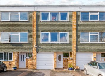 Thumbnail 3 bed town house for sale in Grafton Close, West Byfleet