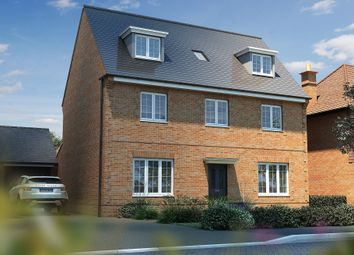 "Thumbnail 4 bedroom detached house for sale in ""The Landguard"" at Mill Lane, Chinnor"