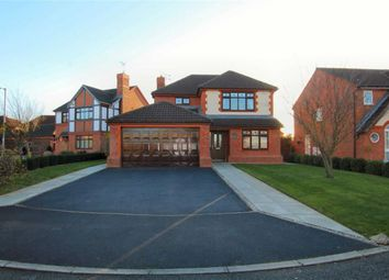 Thumbnail 4 bed detached house for sale in Abbey Dale Close, The Fairways, Wrexham
