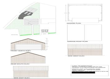 Thumbnail Land for sale in Private Drive, Hollingwood, Chesterfield, Derbyshire