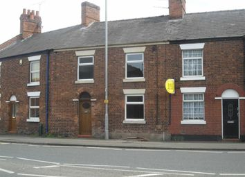Thumbnail 3 bed terraced house to rent in Crewe Road, Nantwich, Cheshire