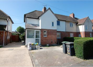 Thumbnail 3 bed semi-detached house for sale in Wallett Avenue, Beeston