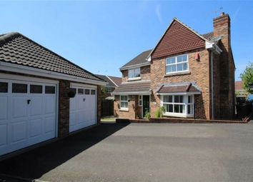Thumbnail 4 bedroom detached house for sale in Cagney Drive, Abbey Meads, Swindon