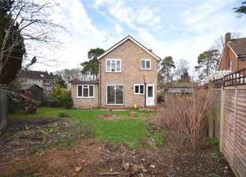 Thumbnail 3 bed detached house for sale in Pensford Close, Crowthorne, Berkshire
