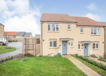 Thumbnail 3 bed end terrace house for sale in Crocker Way, Wincanton