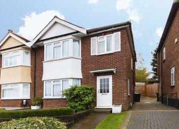 Thumbnail 3 bed semi-detached house for sale in Dene Road, Buckhurst Hill