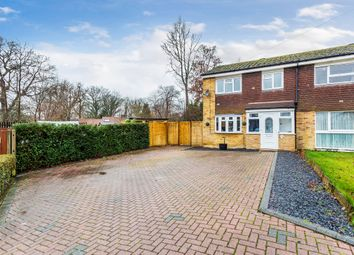 Thumbnail 3 bed end terrace house for sale in The Greenway, Oxted