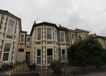 Thumbnail 2 bed maisonette to rent in First Floor Flat, Hampton Road, Redland