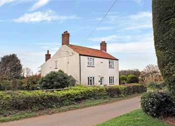 Thumbnail 3 bed detached house for sale in Hall Road, Thurton, Norwich, Norfolk