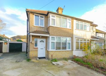 Thumbnail 3 bed semi-detached house for sale in Thackeray Close, Uxbridge