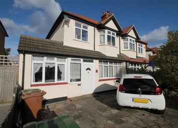 Thumbnail 3 bed semi-detached house for sale in Poulton Avenue, Sutton, Surrey
