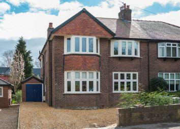 Thumbnail 4 bed semi-detached house for sale in Chiltern Drive, Hale, Altrincham