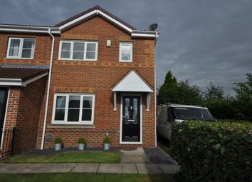 Thumbnail 3 bed end terrace house to rent in Dunstan Drive, Thorne, Doncaster