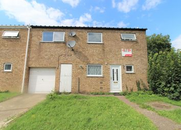 Thumbnail 4 bedroom end terrace house for sale in Oxclose, Peterborough