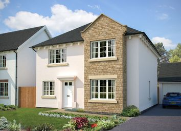 "Thumbnail 4 bed detached house for sale in ""The Canterbury"" at Fremington, Barnstaple, Devon, Fremington"
