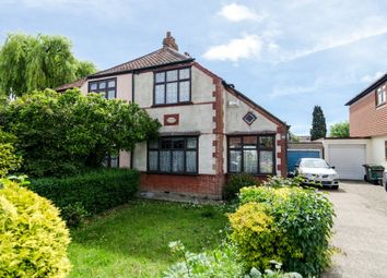 Thumbnail 3 bed semi-detached house for sale in Valliers Wood Road, Sidcup
