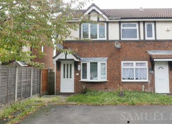Thumbnail 2 bed end terrace house to rent in Burdock Close, Walsall