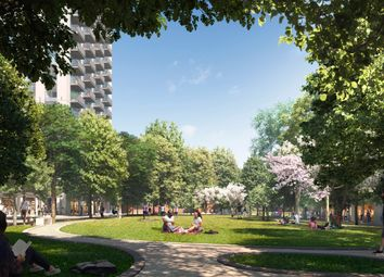 Thumbnail 3 bed flat for sale in Park Drive, Canary Wharf
