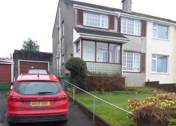 3 bed semi-detached house for sale in Rospeath Crescent, Plymouth PL2