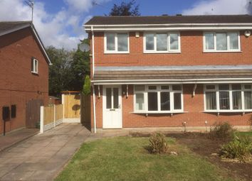 Thumbnail 3 bed semi-detached house to rent in Glencastle Way, Stoke-On-Trent