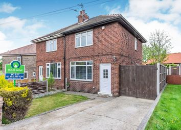 Thumbnail 2 bed semi-detached house to rent in Church View, Wadworth, Doncaster