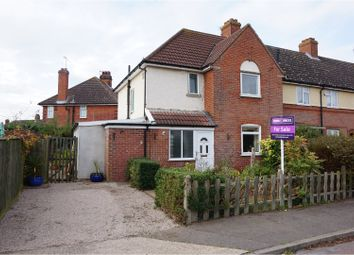 Thumbnail 3 bedroom end terrace house for sale in Shannon Road, Ipswich