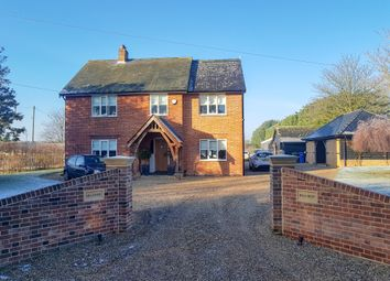 Thumbnail 4 bedroom detached house to rent in London Road, Shadingfield, Beccles